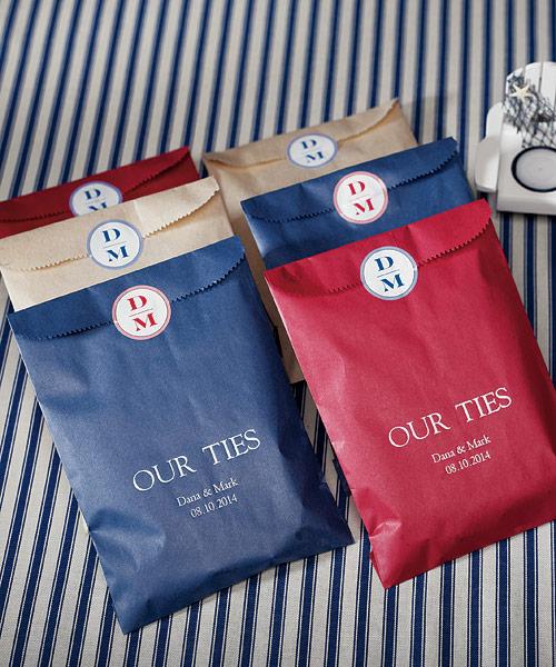 Le sac en papier personnalis pour bonbons ou g teaux amour crit par elena572007 - Petit sac en papier pour mariage ...