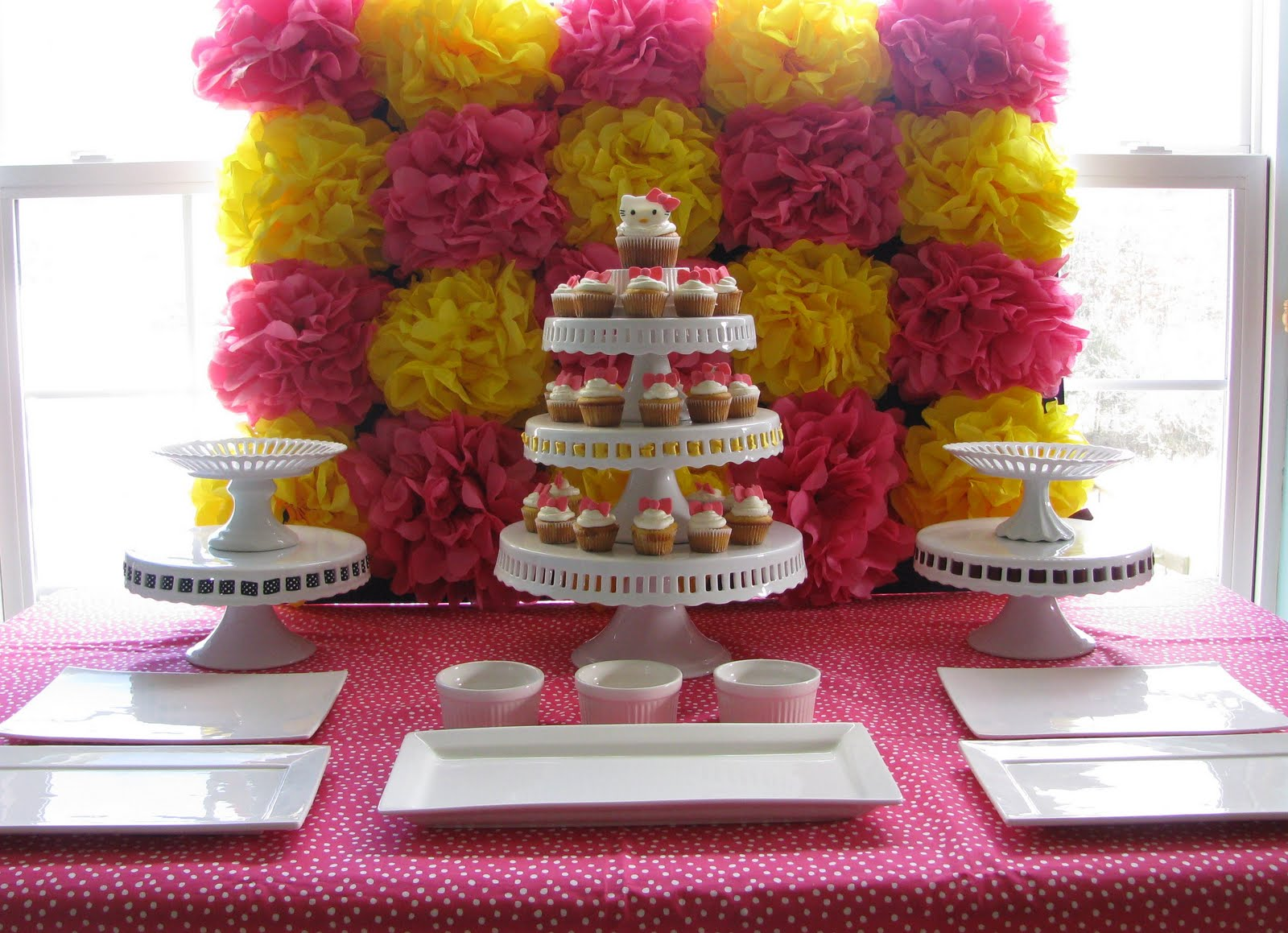 candy bar pompon papier